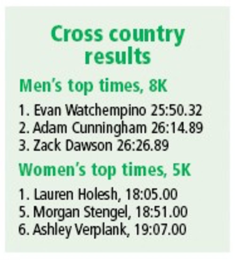 Cross country opens with win