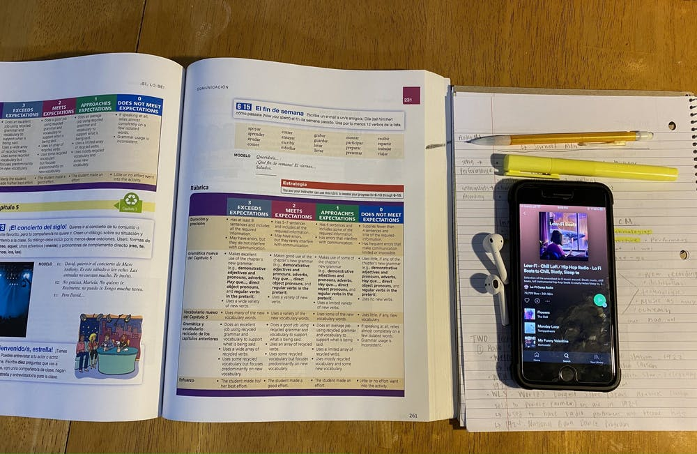 <p>DTH Photo Illustration. For many students, there is pressure to stay organized and caught up on assignments for their classes. This can be challenging for students who are doing their classes online.</p>