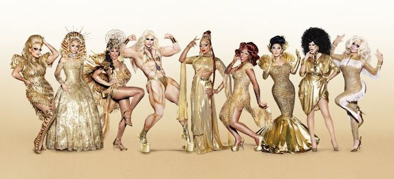 "Shangela (third from left) was a contestant on season three of ""RuPaul's Drag Race All Stars."" Photo courtesy of VH1."
