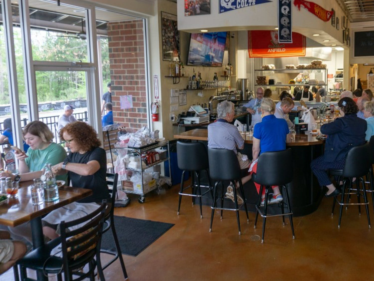 Al's Pub Shack is now open to the residents of Chapel Hill, N.C. Al's is a place where old friends gather and new friends meet.