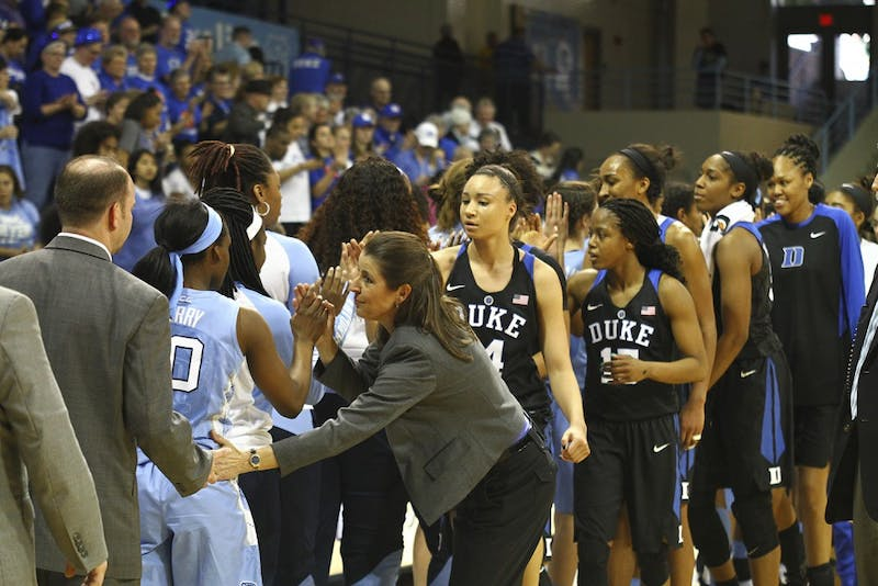 UNC women's basketball loses to Duke 93-57 on Sunday.
