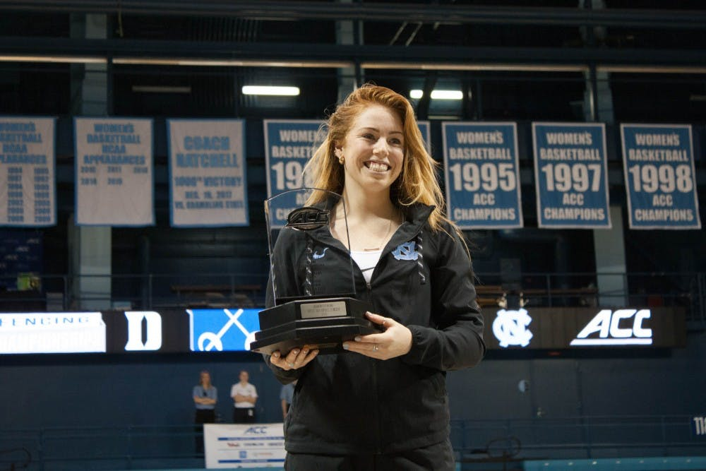 Georgina Summers propels North Carolina fencing to its first women's ACC Championship