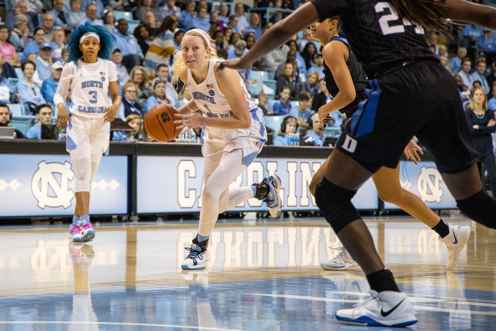 UNC women's basketball falls to Wake Forest, 83-73, in first round of ACC Tournament