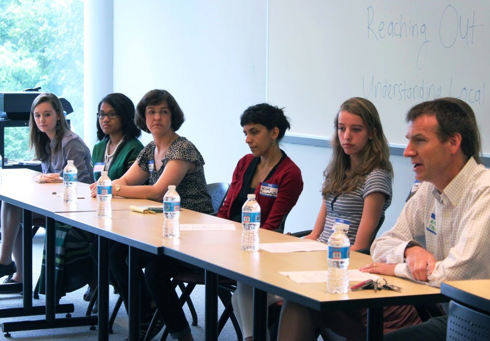 Panel discusses refugee students in CHCCS