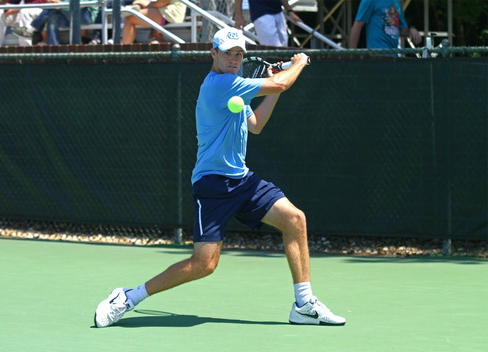 North Carolina men's tennis advances to Sweet 16 for third year in a row