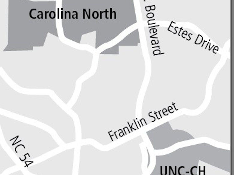 Carolina North Location