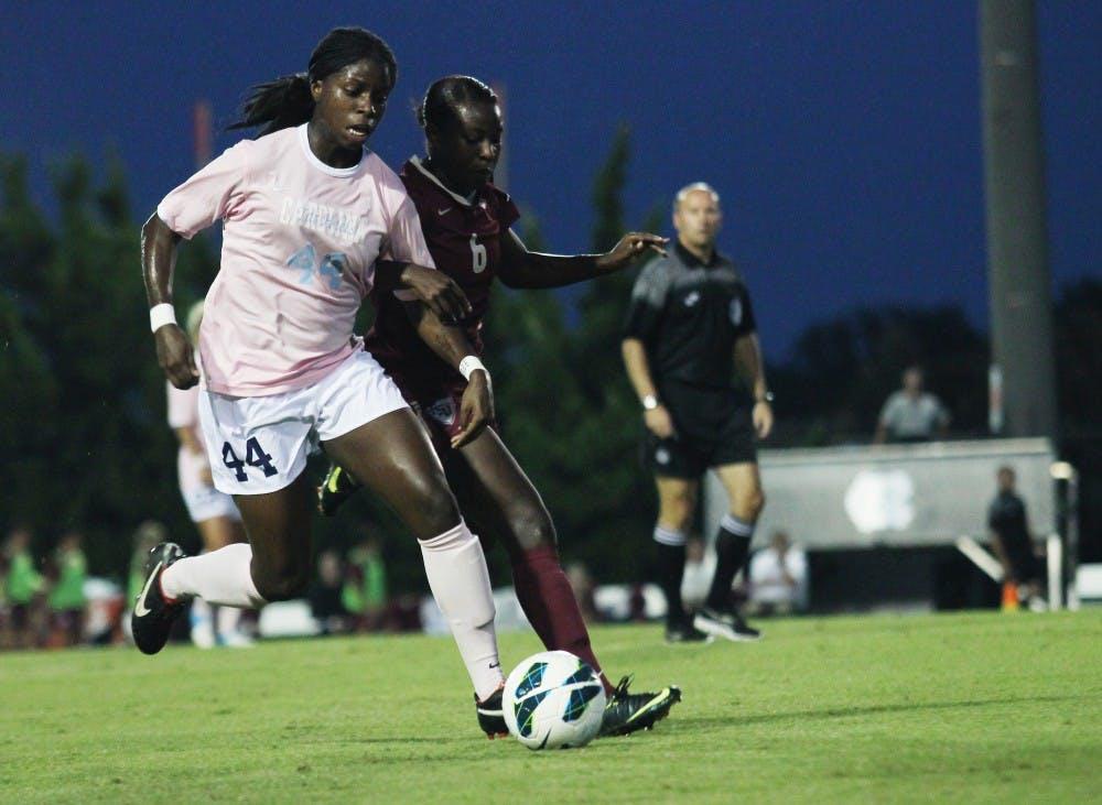 UNC women's soccer falls to FSU despite Ohai's performance