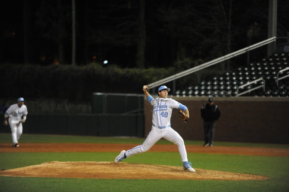 A high-powered second inning lead UNC baseball to win over High Point University