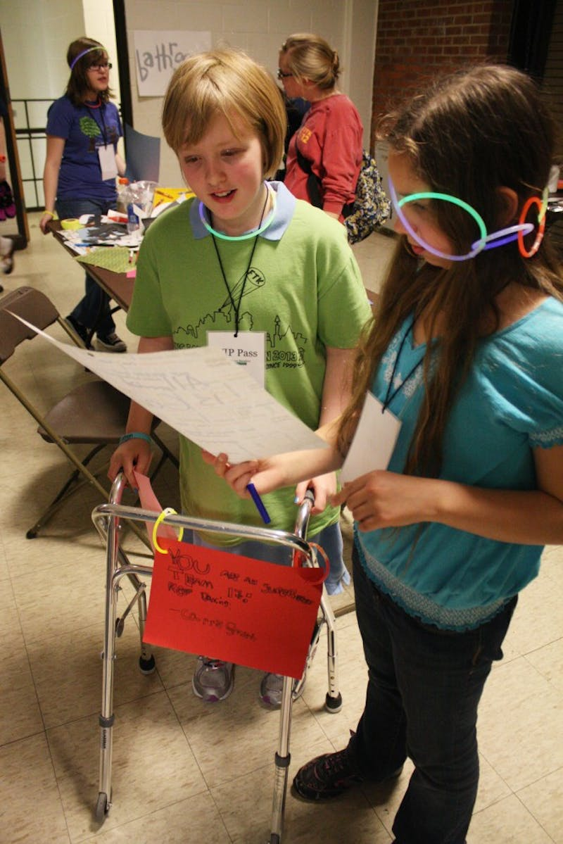 UNC Dance Marathon!  