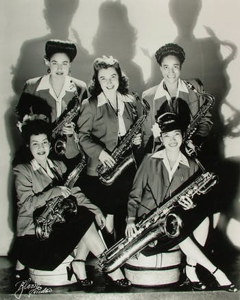 """The International Sweethearts of Rhythm band appears in the film """"Girls in the Band,"""" which will also be featured in the festival."""