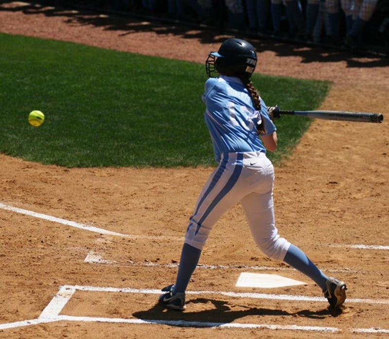 Anna Roberts was one bright spot for UNC in the Tar Heels' series against Maryland. DTH/Ducan Culbreath