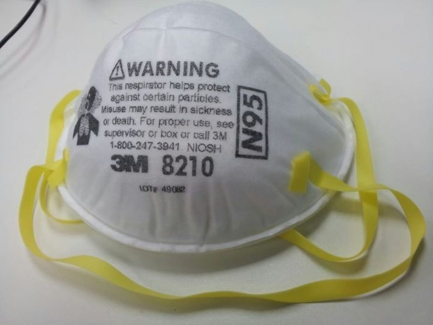 ICE agents are requesting a hold of 45,000 of these N95 surgical masks, a move that could make less of them available to medical providers battling the coronavirus. Photo courtesy of Wikimedia Commons.