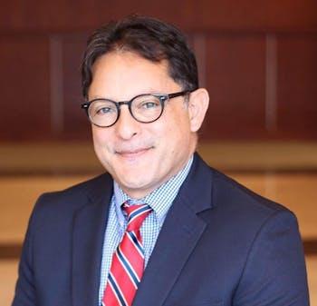 Carlos Ramirez is taking over as principal of Cedar Ridge High School this week. Photo courtesy of Orange County Schools.