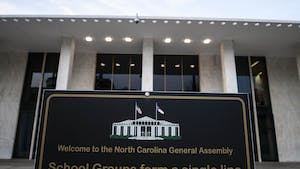 North Carolina General Assembly building in Raleigh on Wednesday, Jan. 29, 2020.