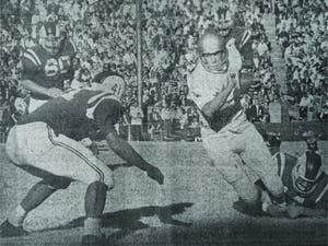 DTH Archives. UNC underdogs upset No. 6 Duke 7-6 on Nov. 19, 1960 before finishing the season off with the 81st-best offense and 72nd-best defense.