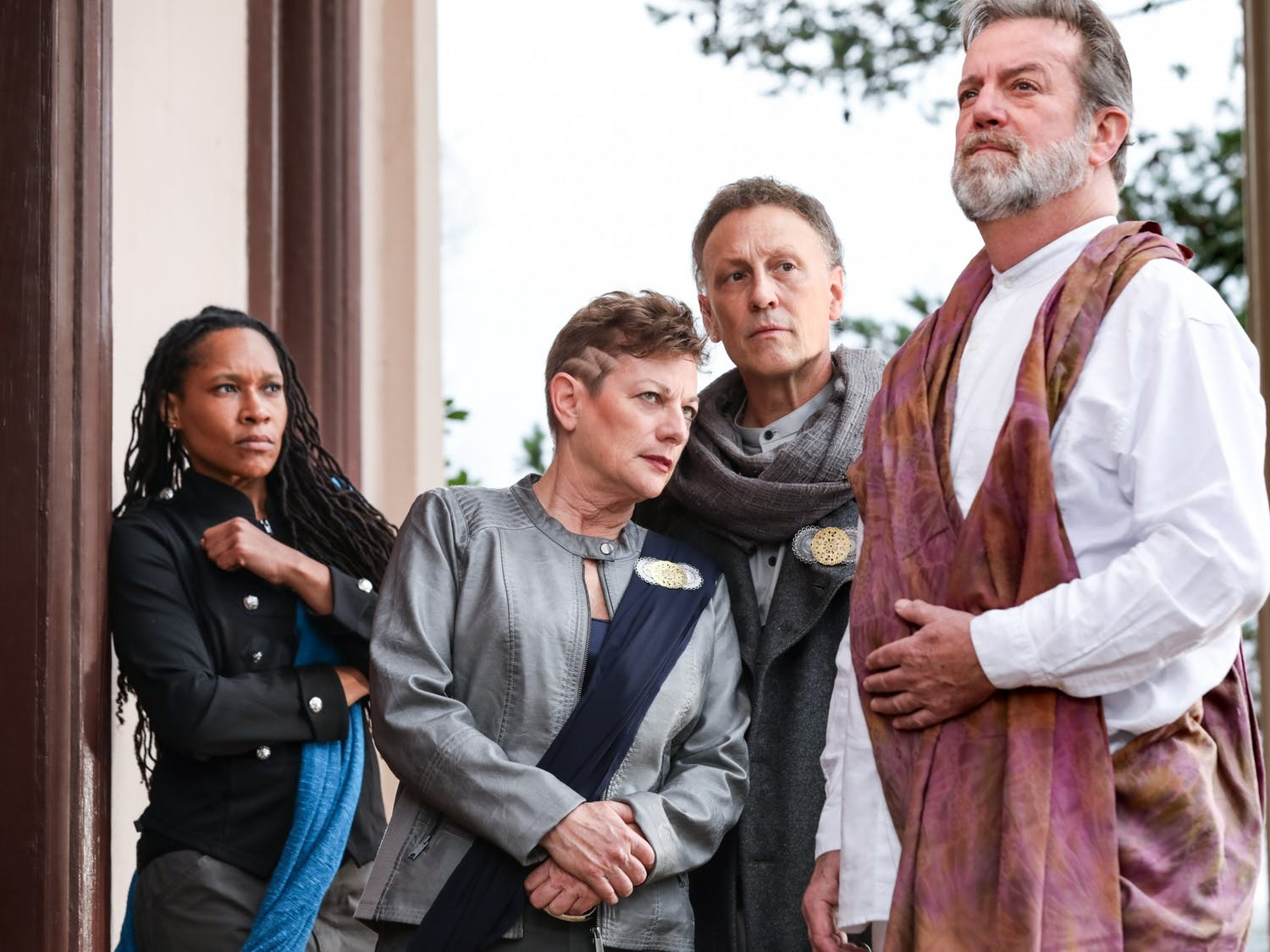 """""""Julius Caesar"""" will finally premiere on the PlayMakers Repertory Company stage for the first time ever on March 4, 2020. The production will run until March 22, 2020. Photo courtesy of HuthPhoto."""