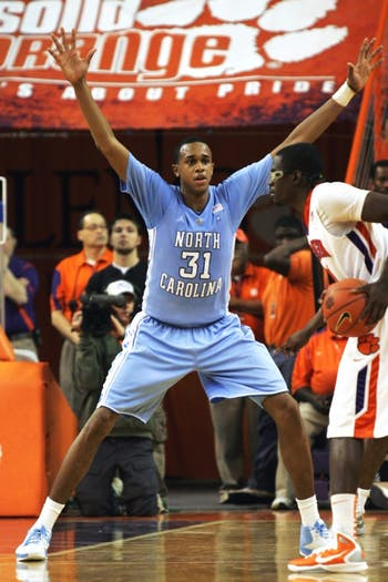 The University of North Carolina Tar Heels played the Clemson Tigers on Saturday, February 12, 2011.