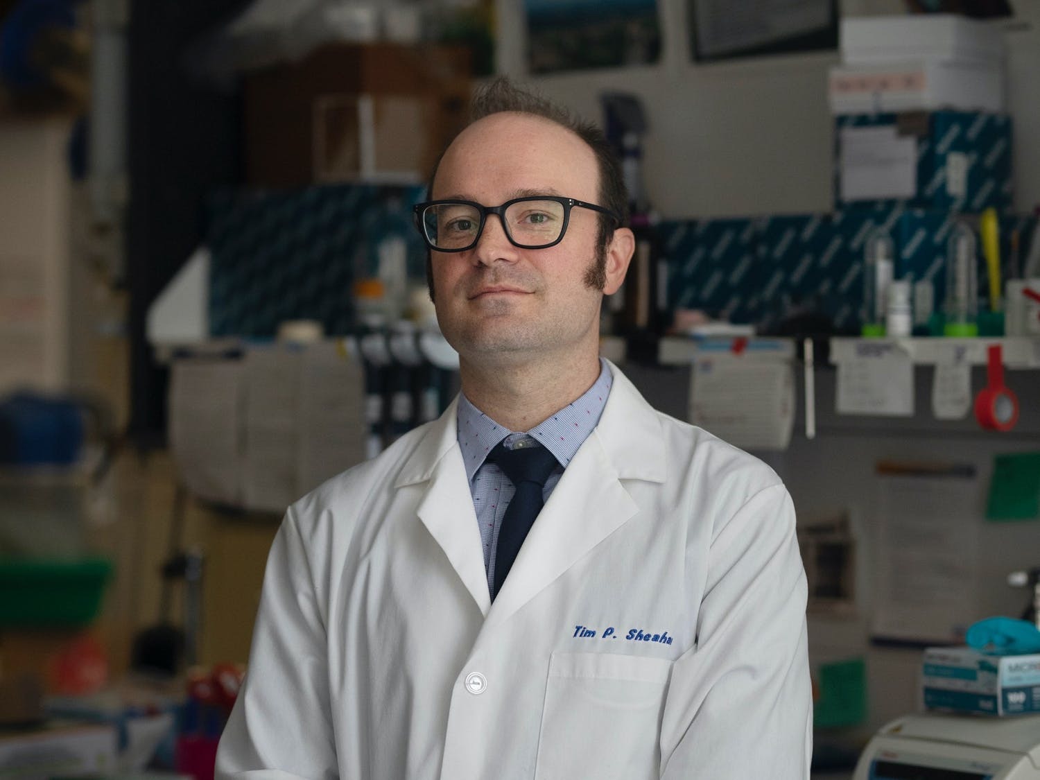 Timothy Sheahan, an assistant professor in UNC Gillings School of Global Public Health's department of epidemiology, has been working closely with coronaviruses prior to the pandemic with his work on the creation of anti-viral drugs. Photo courtesy of Sheahan.