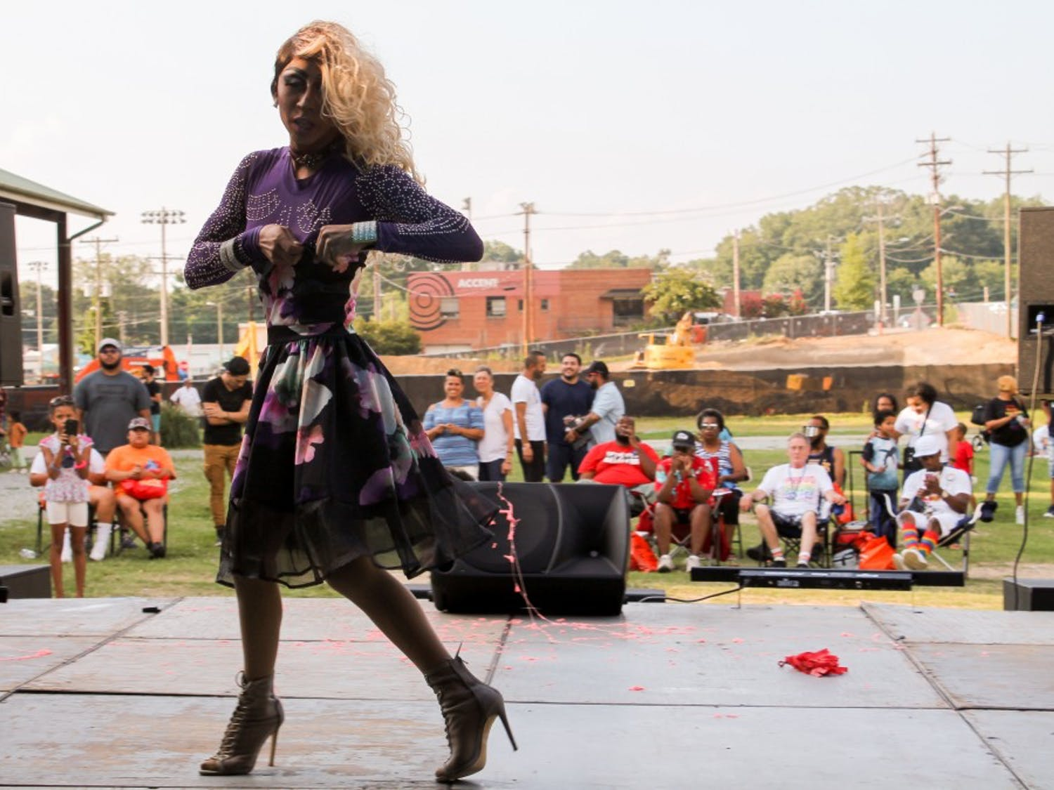 Orgullo Latinx was the first Latinx pride celebration in the triangle, taking place in downtown Durham on July 28.