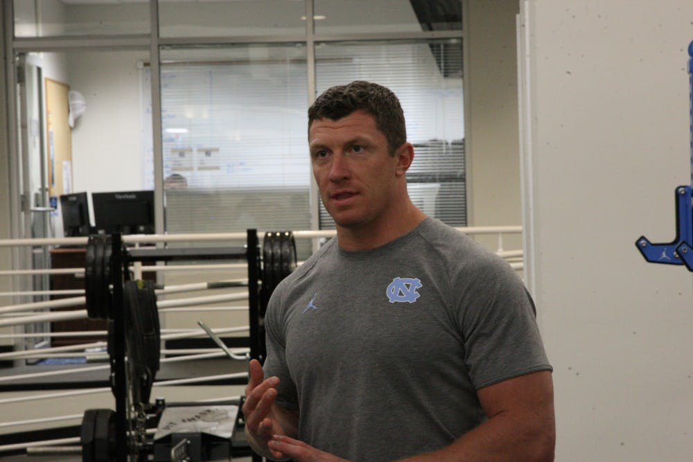 Here's how UNC football's trainer is keeping the Tar Heels in shape during quarantine