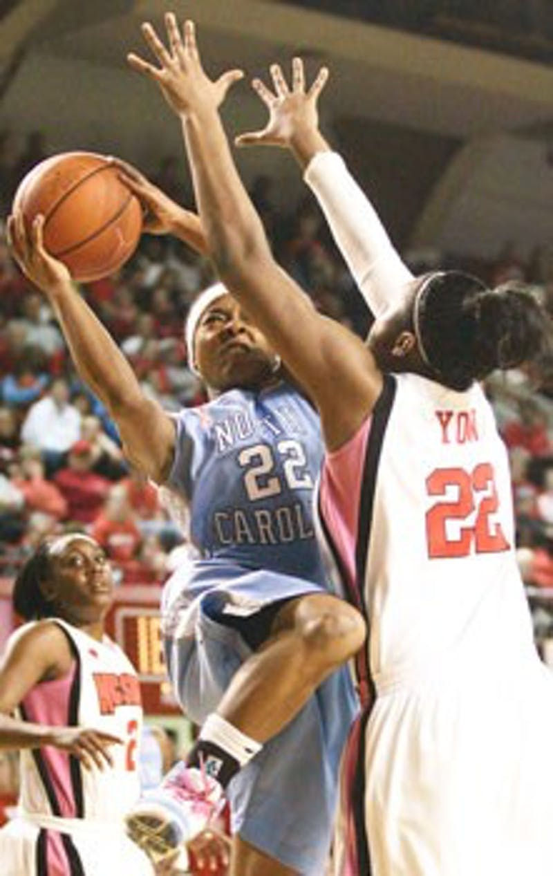 UNC sophomore Cetera DeGraffenreid continued her role as UNC?s ?quarterback? and finished with 14 points and four assists Monday.
