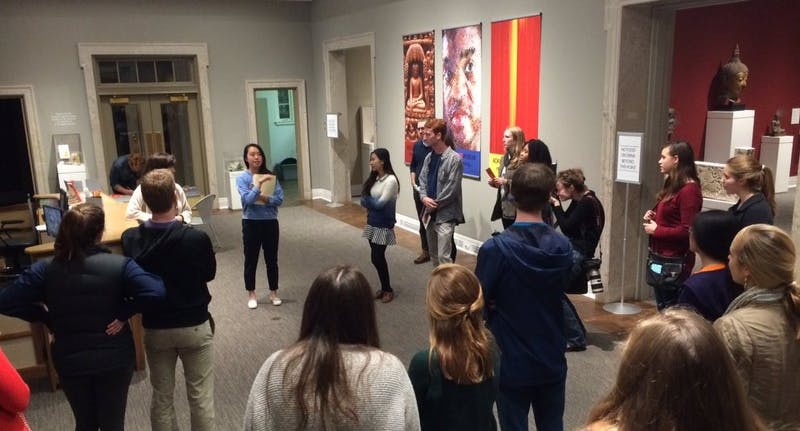 Art After Dark is hosted by the Student Friends of the Ackland. Photo courtesy of Audrey Shore.