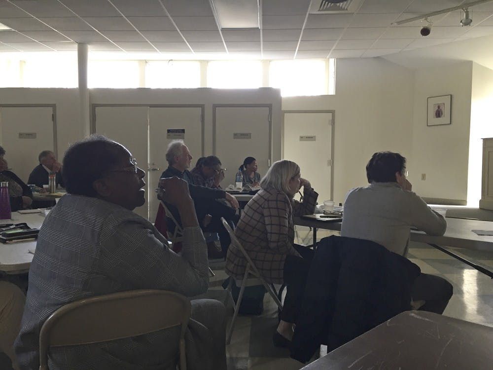 Meeting held between town of Chapel Hill residents to discuss West Rosemary development