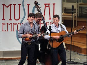 Musical Empowerment held its 2nd Annual Benefit Concert at University United Methodist Church on Tuesday. The Clef Hangers, Mipso, the Achordants, and Joe Kwon, Scott Avett, Seth Avett, Paul Defiglia and Tania Elizabeth of The Avett Brothers performed to raise money for Musical Empowerment.