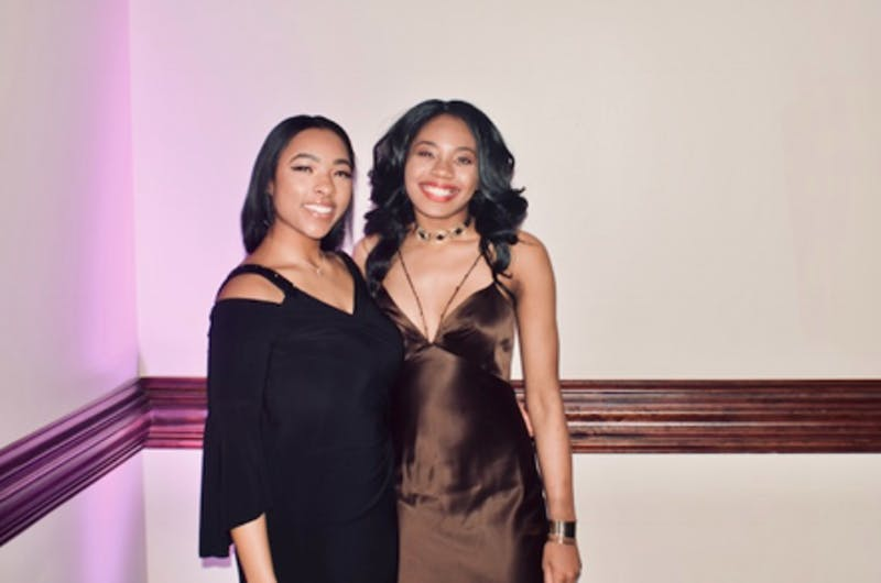 Alex Robinson and Qieara Lesesne, both rising seniors, have been elected to lead BSM as the new vice president and president. Courtesy of the Black Student Movement.