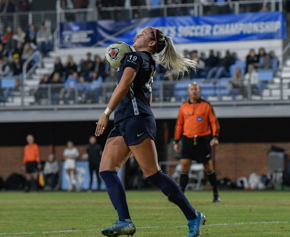 'A simple finish': Alessia Russo's goal lifts UNC over Colorado in NCAA Tournament