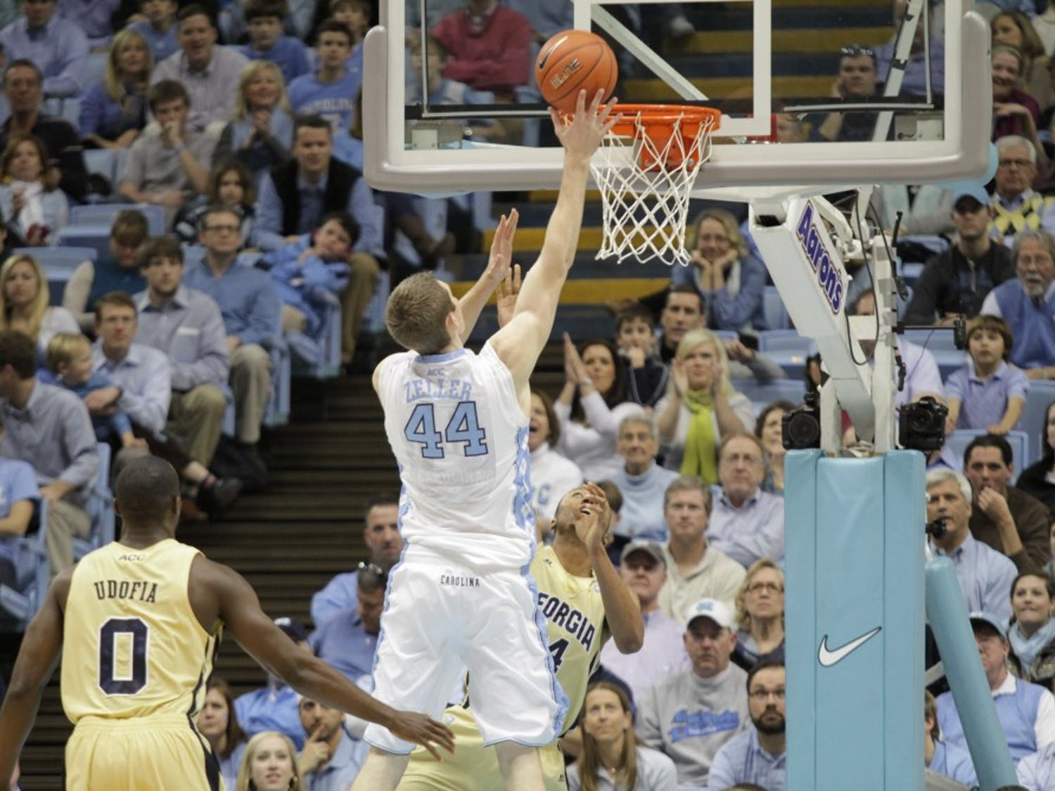 Men's basketball vs. Georgia Tech on Sunday, January 29, 2012 at the Dean Smith Center in Chapel Hill, NC.