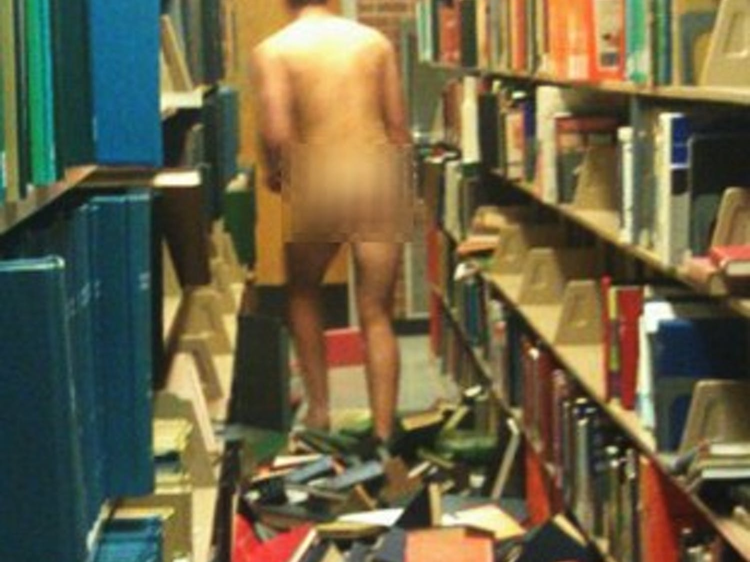 Seth Pacewas caught streaking in Pace Library in 2010 as a North Carolina State University first-year.