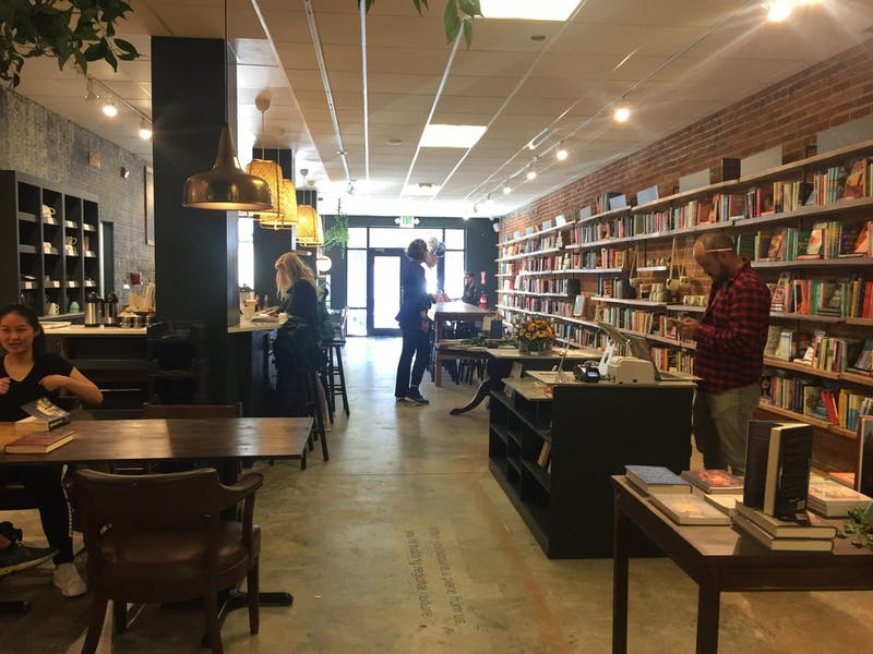 Epilogue Books Chocolate Brews held a soft opening at it's location on Franklin Street on Nov. 1, 2019.