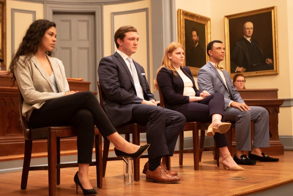 Martin endorsed at second debate of student body president campaign season