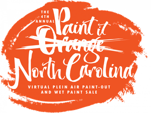 "The fourth annual ""Paint it Orange"" event, hosted by the Orange County Arts Commission and the Hillsborough Arts Council, is adjusting to a new online format to continue supporting artists in North Carolina. Graphic courtesy of Katie Murray."