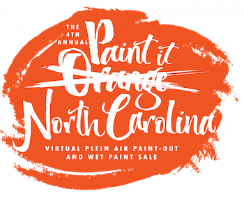 """The fourth annual """"Paint it Orange"""" event, hosted by the Orange County Arts Commission and the Hillsborough Arts Council, is adjusting to a new online format to continue supporting artists in North Carolina. Graphic courtesy of Katie Murray."""