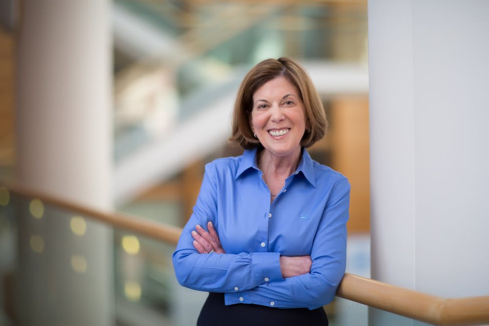 <p>Dr. Barbara K. Rimer will conclude her service as dean of the Gillings School on June 30, 2022. Photo courtesy of Gillings School of Global Public Health.</p>