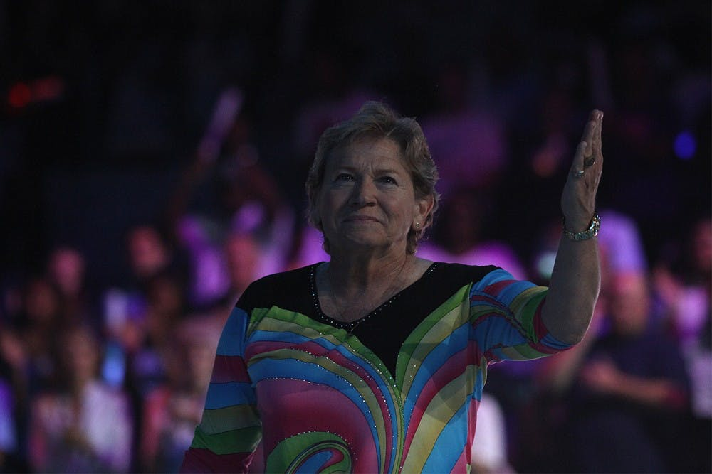 Sylvia Hatchell and Kennedy Meeks stole the show at Late Night with Roy
