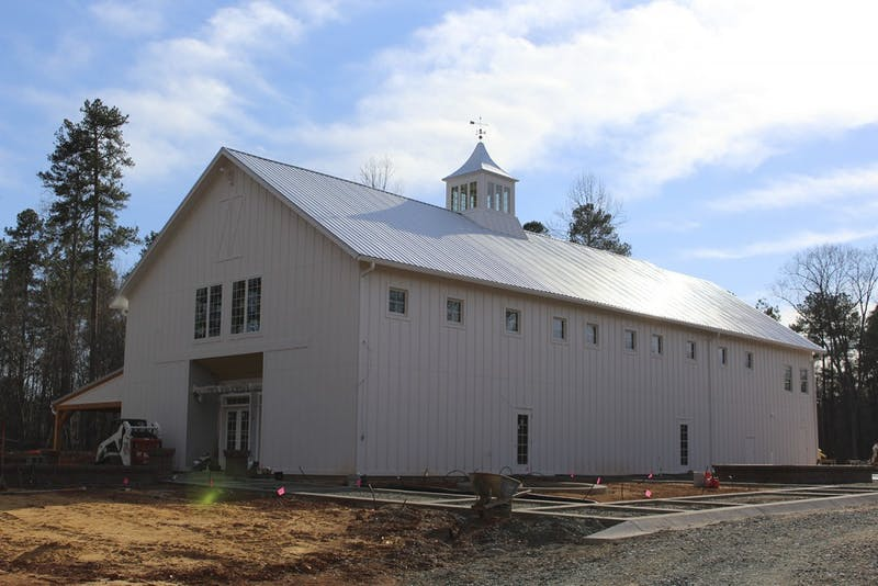 A party barn located in Orange County is currently under construction. It was built to host weddings but the Orange County Board of Adjustments has prevented weddings from being held there due to zoning purposes.