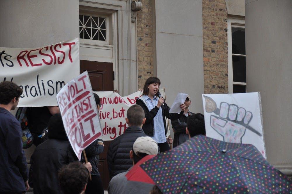 Folt Revolt protestors claim that Arts Everywhere initiative is not enough