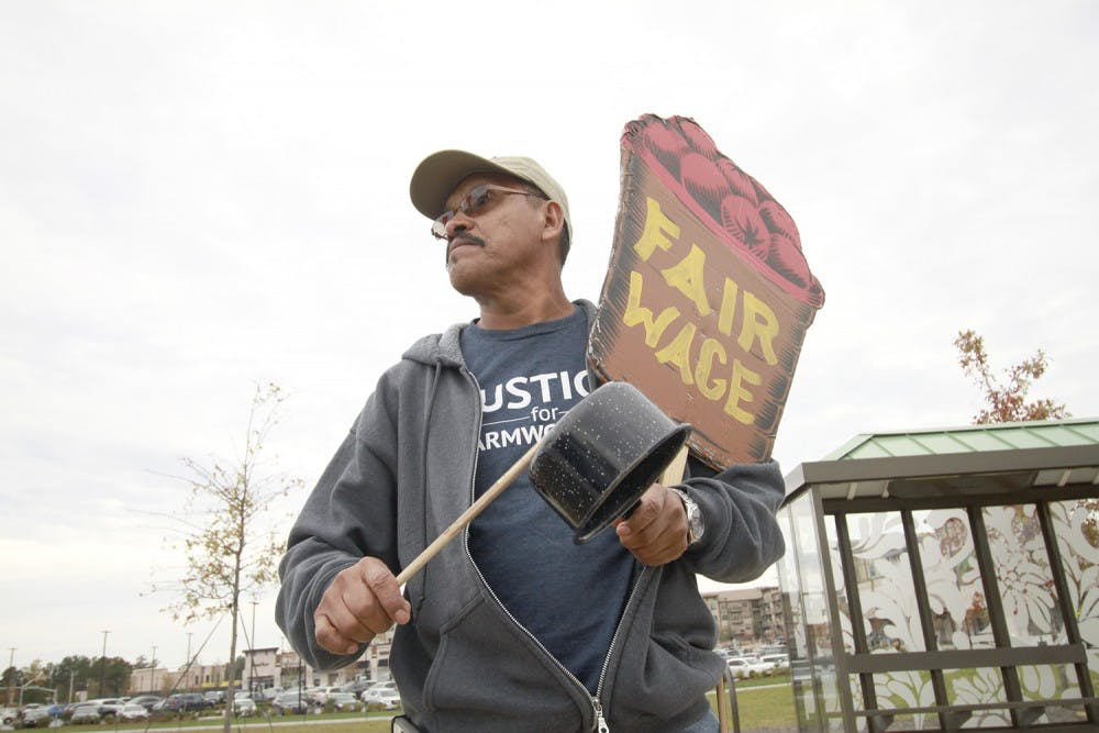 Farmworkers protest comes to Cary
