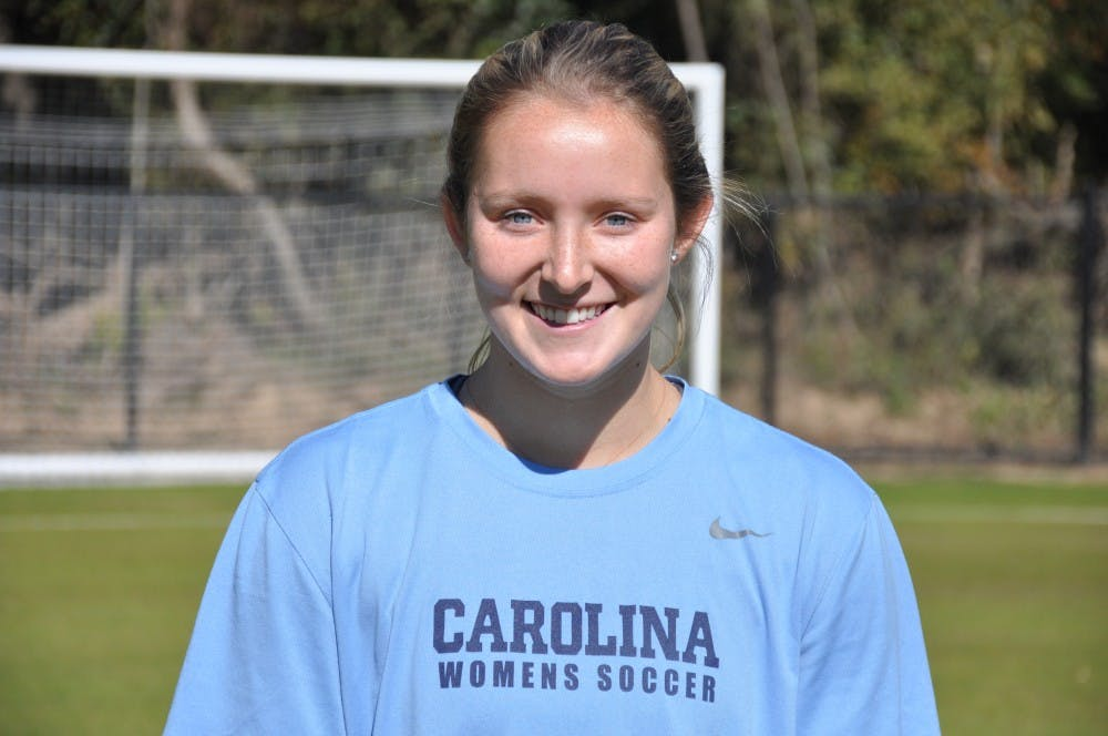 After a series of injuries, former UNC soccer player Kate Morris has found her role