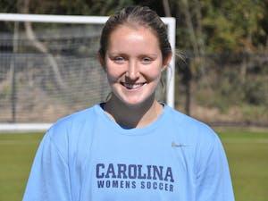 Former women's soccer player Kate Morris.