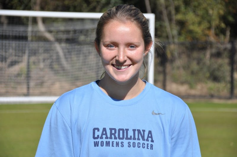 Former women's soccer player Kate Morris.