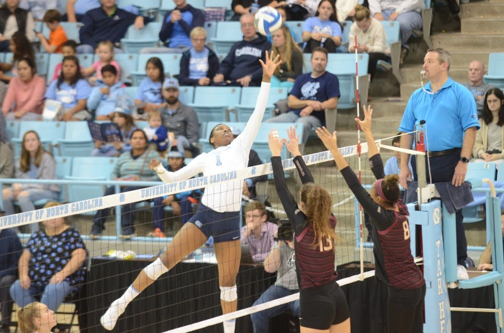 UNC volleyball team looks to find first winning season since 2016