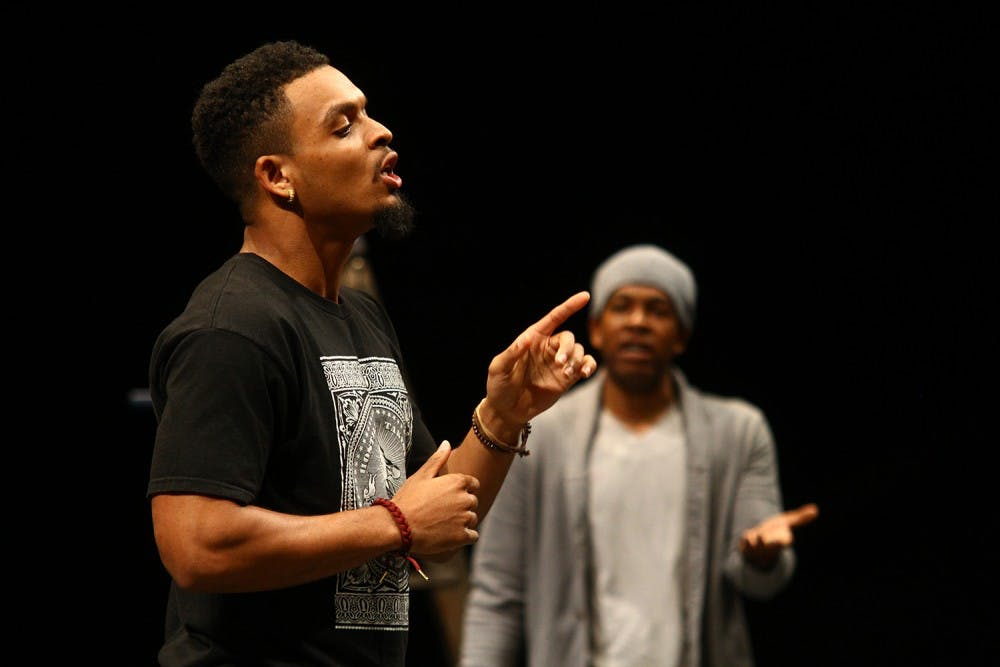 Myles Bullock: cool UNC MFA student by day, PlayMakers' actor by night