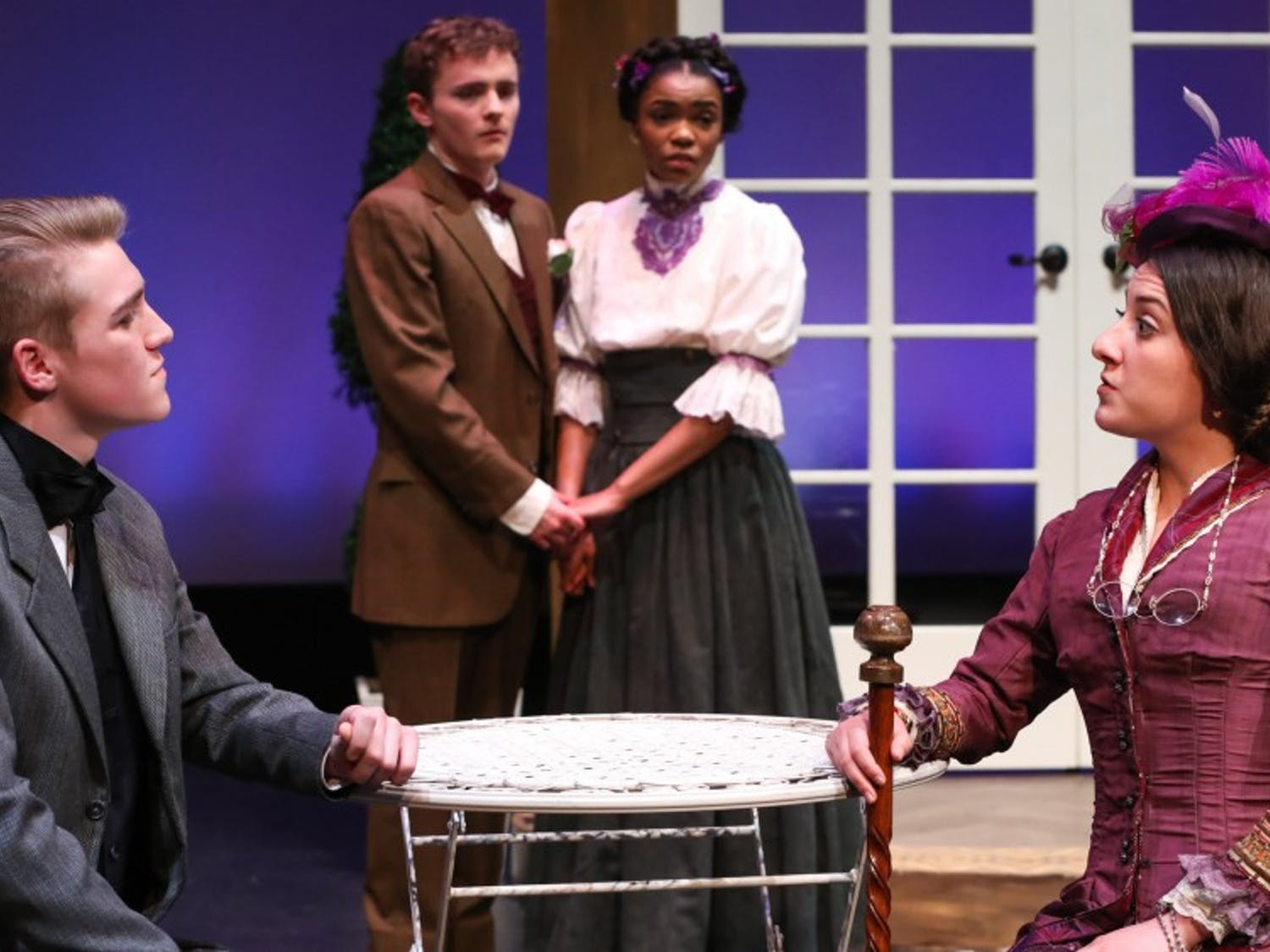 """Kenan Theatre Company is performing Oscar Wilde's """"The Importance of Being Earnest"""" from Mar. 1 to 5. Photo courtesy of Huth Photo."""