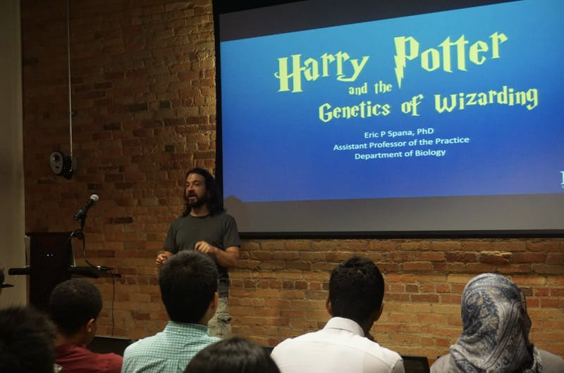 Eric Spana will speak at the upcoming Harry Potter genetics discussion at Back Bar. Photo by Rose Wang .