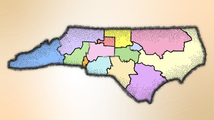 N.C. Sen. Ben Clark recently revealed a draft of his newly suggested CBK-4 map. His submission is intended to maintain regional integrity and create an even split between eastern and western districts across North Carolina.