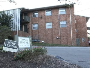 Town House Apartments, located on Hillsborough Rd, was a popular student apartment complex.